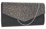 montary-clutch-bag-black-silver