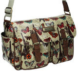 Swanky Swans Noel Paris Butterfly Classy Womens Satchel Bag SWANKYSWANS Perfect for Back to school!