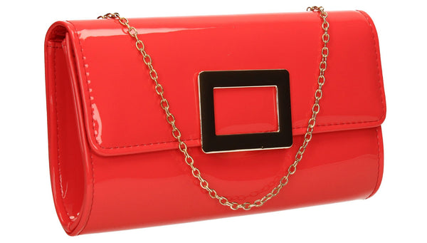 SWANKYSWANS Panama Clutch Bag Coral Cute Cheap Clutch Bag For Weddings School and Work