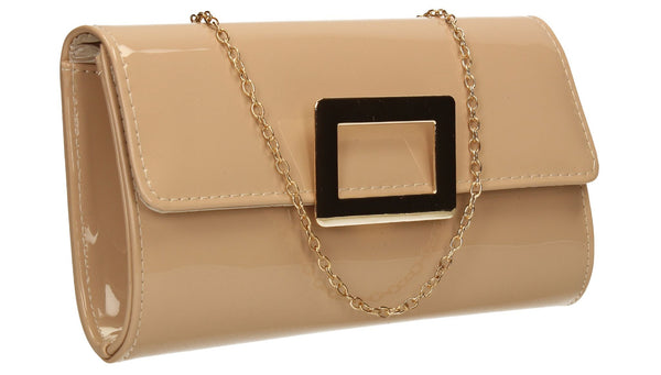 SWANKYSWANS Panama Clutch Bag Beige Cute Cheap Clutch Bag For Weddings School and Work