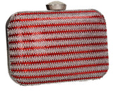 SWANKYSWANS Jane Clutch Bag Red Cute Cheap Clutch Bag For Weddings School and Work