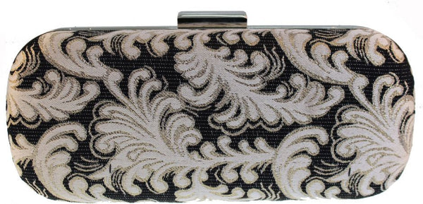 SWANKYSWANS Rochelle Clutch Bag Black Cute Cheap Clutch Bag For Weddings School and Work