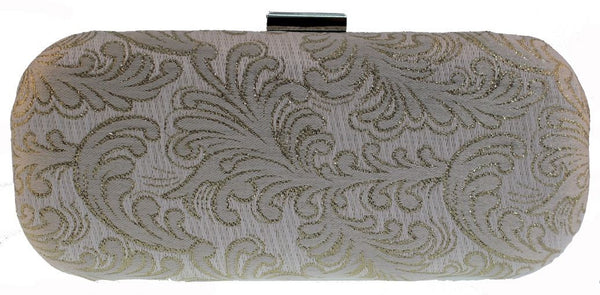 SWANKYSWANS Rochelle Clutch Bag Gold Cute Cheap Clutch Bag For Weddings School and Work