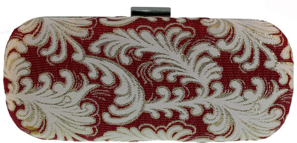SWANKYSWANS Rochelle Clutch Bag Red Cute Cheap Clutch Bag For Weddings School and Work