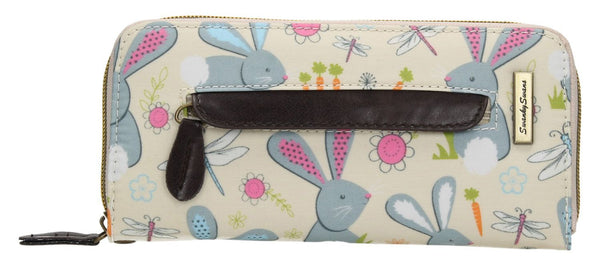 Swanky Swank Romeo Rabbit Front Zipper Detail PurseCheap Cute School Wallets Purses Bags Animal