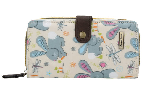 Swanky Swank Romeo Rabbit Large Folding PurseCheap Cute School Wallets Purses Bags Animal