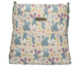 Swanky Swans Romeo Rabbit Print Summer Crossbody BagWomens Girls Boys School Crossbody Animal Cute