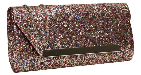 SWANKYSWANS Shanina Clutch Bag Multicolour Cute Cheap Clutch Bag For Weddings School and Work