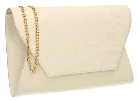bdae461806 SWANKYSWANS Tania Clutch Bag White Cute Cheap Clutch Bag For Weddings  School and Work