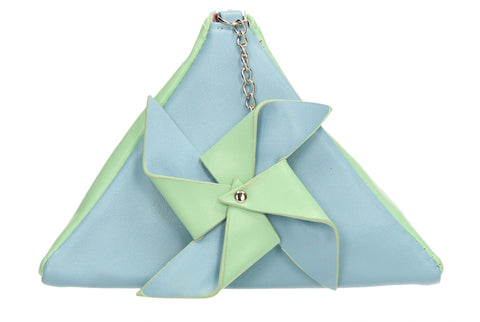 SWANKYSWANS Tina Pastel Clutch Bag Blue/Green Cute Cheap Clutch Bag For Weddings School and Work