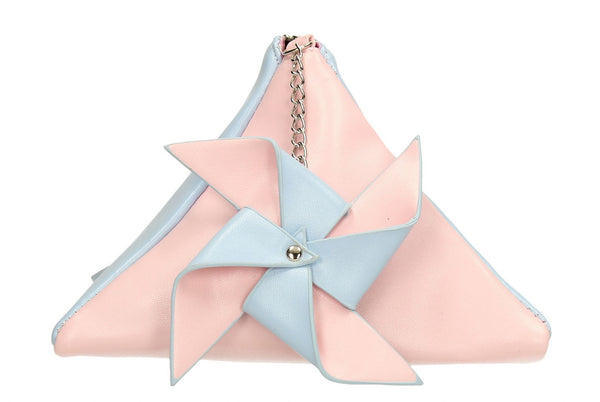 SWANKYSWANS Tina Pastel Clutch Bag Pink/Blue Cute Cheap Clutch Bag For Weddings School and Work