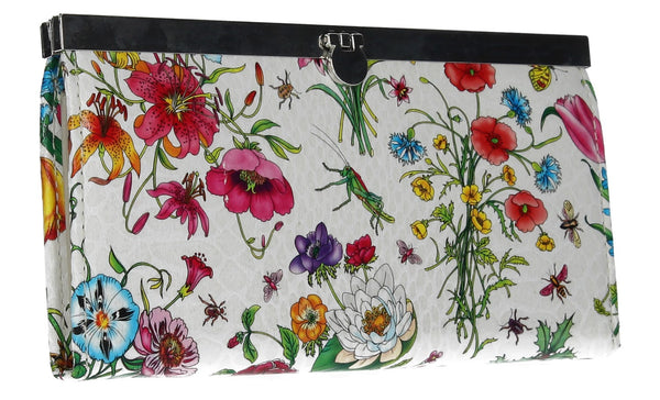 Swanky Swank Vintage Floral Purse WhiteCheap Cute School Wallets Purses Bags Animal