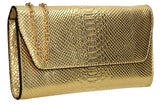 SWANKYSWANS Ormy Clutch Bag Gold Cute Cheap Clutch Bag For Weddings School and Work