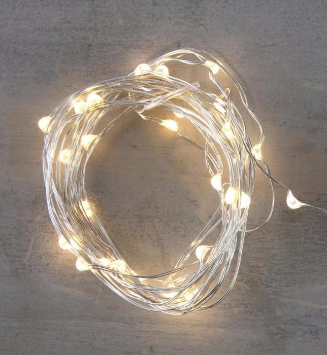 Silver wire LED string lights Warmwhite Battery Christmas fairy lights wedding decorations - 1stavenue