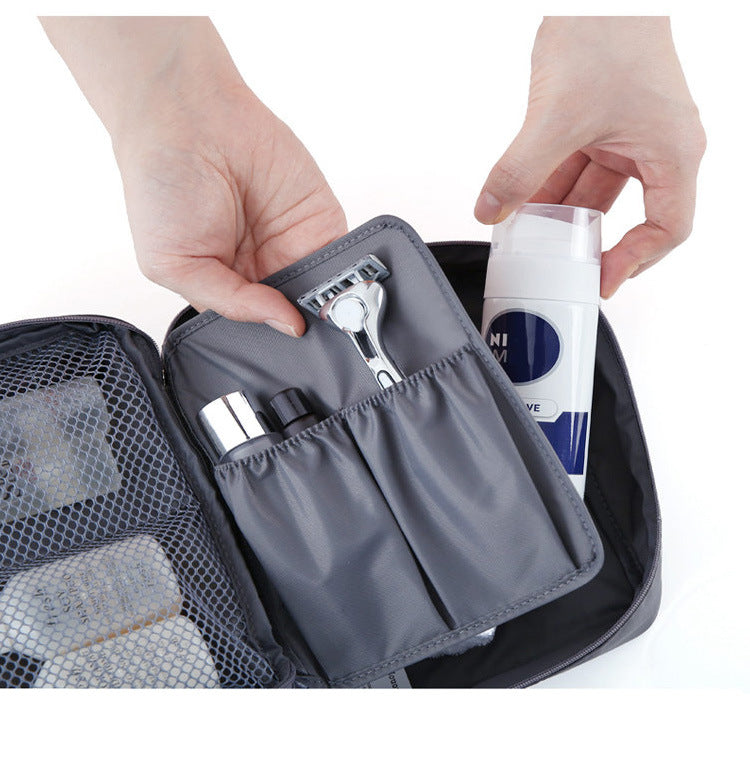 Korean travel pouch waterproof wash bag cosmetic bag storage bag cosmetic-Travel Organizer-1stAvenue