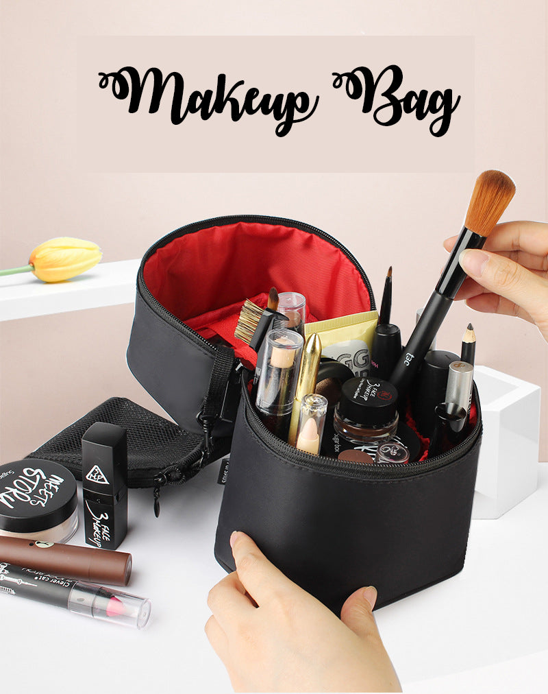 3D Dimensional waterproof portable cosmetic case bag travel cosmetic bag storage bag-Travel Organizer-1stAvenue