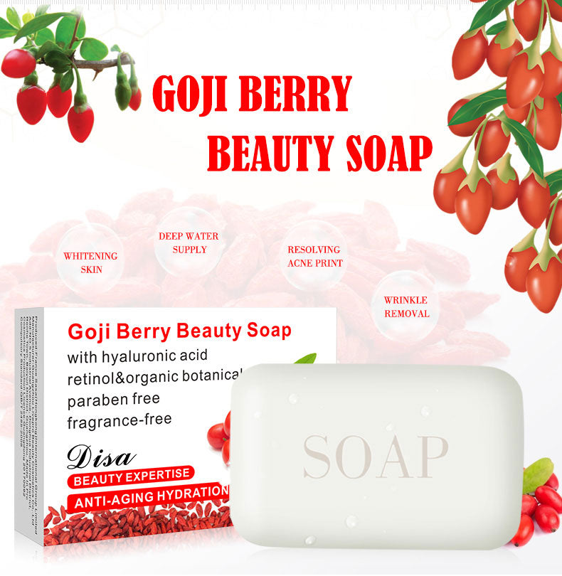 Disaar Goji Berry Blackhead Remover Handmade Acne Treatment Soap - 1stAvenue