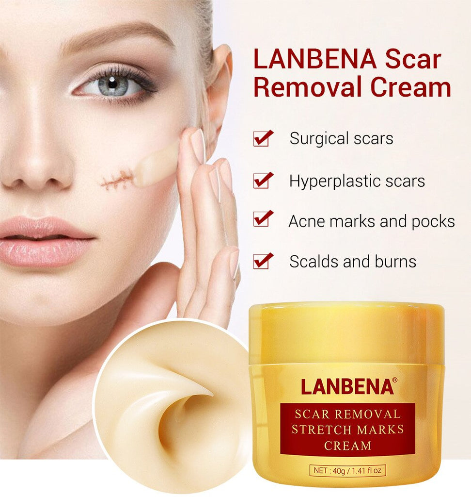 LANBENA Scar Removal Stretch Marks Cream 40g Repairing Hyperplastic Scars-Beauty Product-1stAvenue