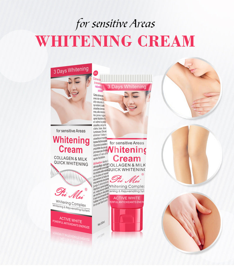 Pei Mei Armpit Whitening Cream Body Underarm Whitening Cream-Beauty Product-1stAvenue