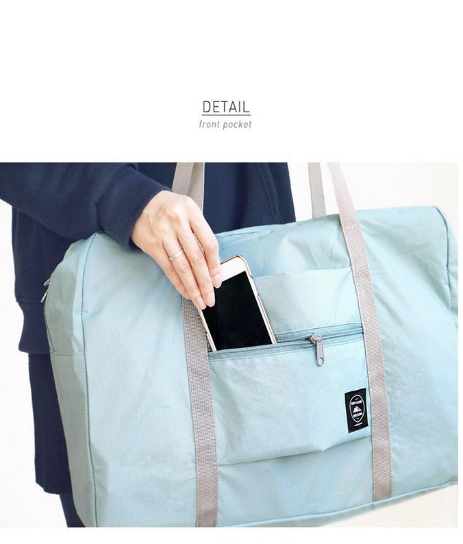 Foldable Storage Bag Waterproof Luggage Bag Travel Shopping Bag Men Women-Travel Organizer-1stAvenue