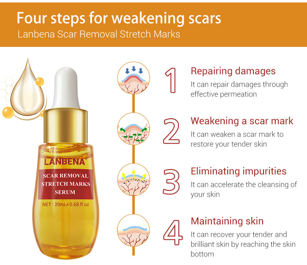 LANBENA Scar Removal Stretch Marks 20ml-Skin care-1stAvenue
