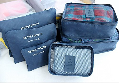 Travel Organizer Set Korean Style 6 in 1-Travel Organizer-1stAvenue
