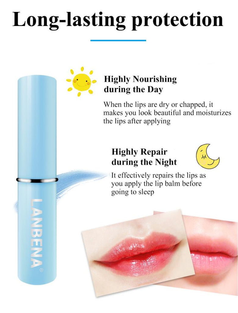 LANBENA Hyaluronic Acid Lip Balm Lip Plumper Long-Lasting Moisturizing-Beauty Product-1stAvenue