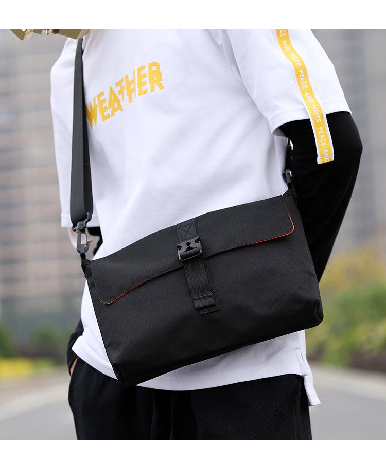 End & Start Shoulder bag messenger bag trendy fashion double-sided messenger bag 1019-End & Start-1stAvenue