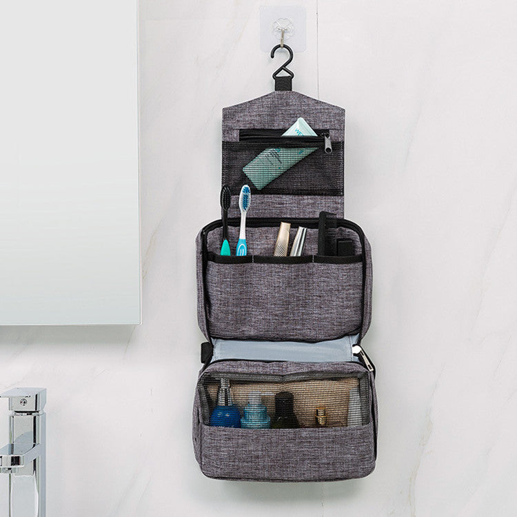 High Quality Toiletry Bag Multi-function Travel Organizer Storage Pouch Style of MUJI-Travel Organizer-1stAvenue