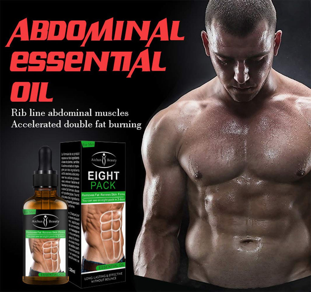 Aichun Beauty Powerful Abdominal Muscle Essential Oil 30ML-Beauty Product-1stAvenue