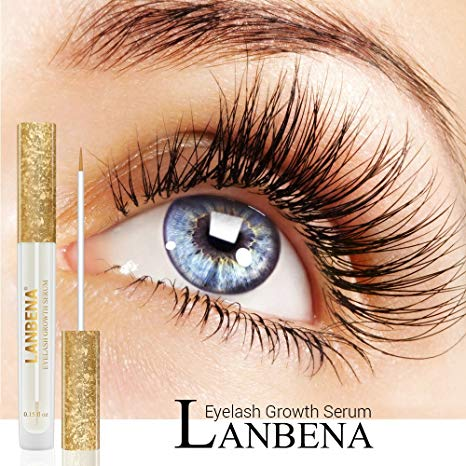 LANBENA Eyelash EnhancerLash Booster Serum Eyelash Growth Serum for Longer, Thicker, Fuller Eyelash - 1stAvenue