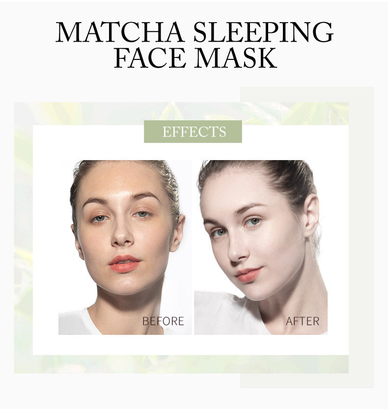 LAIKOU Matcha Sleeping Face Mask 3g 15pc PACK-Beauty Product-1stAvenue
