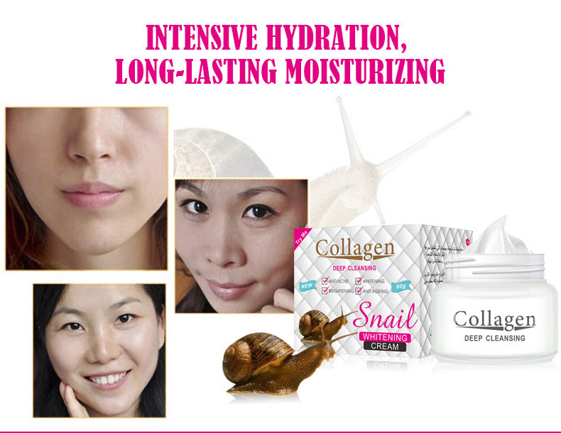 Snail Whitening Cream Collagen - 1stavenue