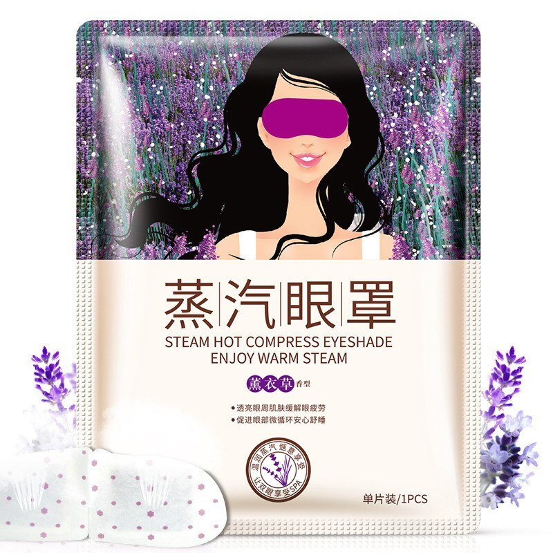 BUNDLE OF 6 Disposable Steam Eye Patch Healing Warm Eye Mask Relieve Fatigue Massage Moisturizing-Beauty Product-1stAvenue