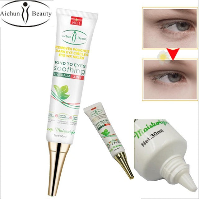 Aichun Beauty Dark Eye Circles Wrinkles Cream Natural Moisturizing Aloe Vera-Beauty Product-1stAvenue