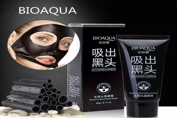 Buy 1 get 1 FREE Bioaqua Charcoal Blackhead Mask-Blackhead-1stAvenue