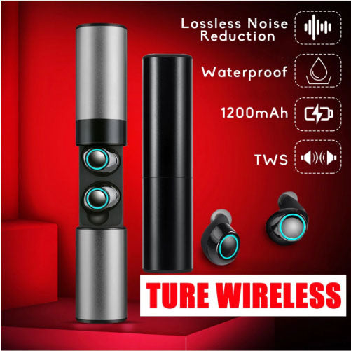 Wireless Waterproof Bluetooth Headset S2 Mini TWS Magnetic Charging Earbud Wireless Bluetooth Paired Headphones-Bluetooth Earphone-1stAvenue