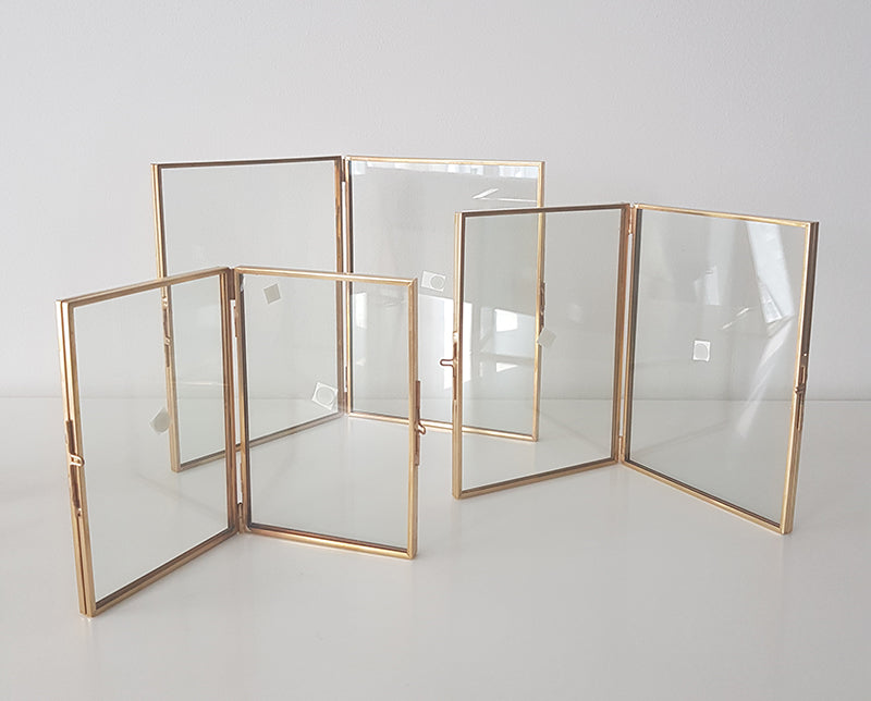 Geometric Photoframe (Double Frame) - 1stAvenue