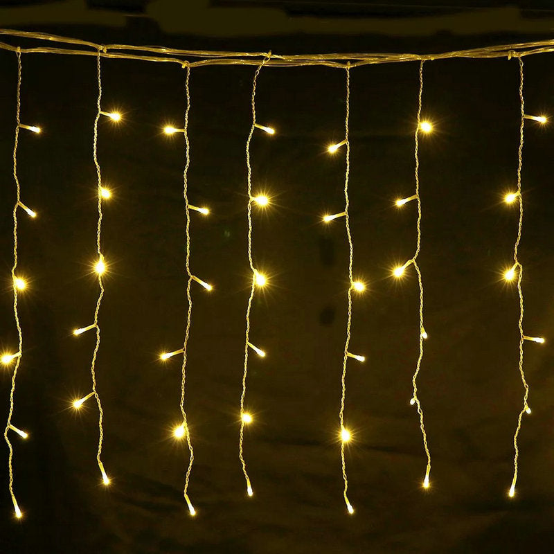 3M*1M 150LEDs Curtain String Fairy Light warm white-Fairy Lights-1stAvenue