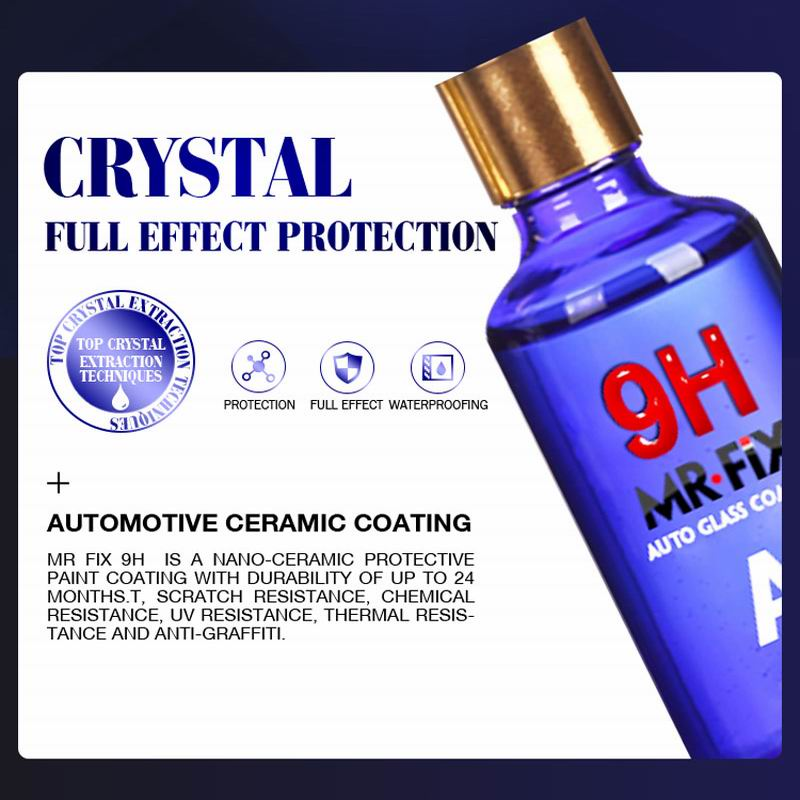 MR FIX Car Paint Coating 30ml Anti-scratch Car Polish Liquid Ceramic Coat Auto Paint Care-Car camera-1stAvenue