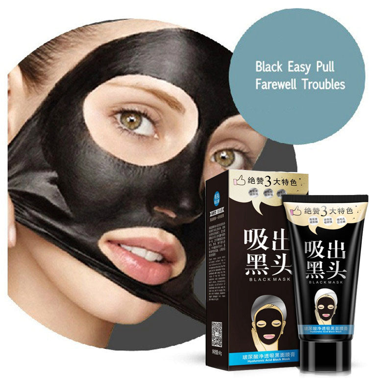 One Spring Hyaluronic Acid Black Facial Mask Facial Cream Remove Blackhead Acne Treatment Skin Whitening Oil Control Skin Care-Blackhead-1stAvenue