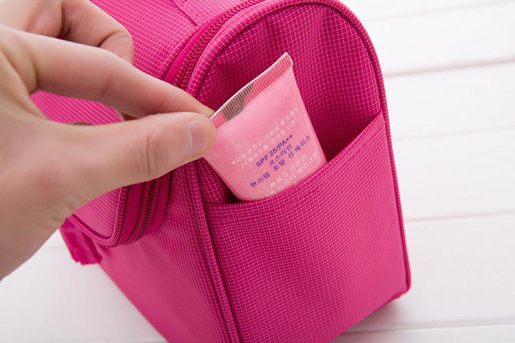 Exquisite Cosmetic Hanging Travel Bags Man Fashion Deluxe Toiletry Bag-Travel Organizer-1stAvenue