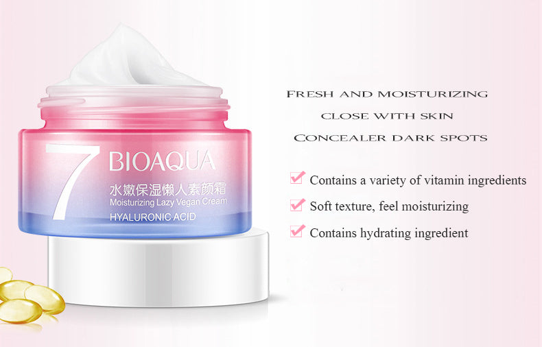 BIOAQUA Hydra V7 Cream Brightening Skin Moisturizing Nourishing Concealer Cream-Skin care-1stAvenue