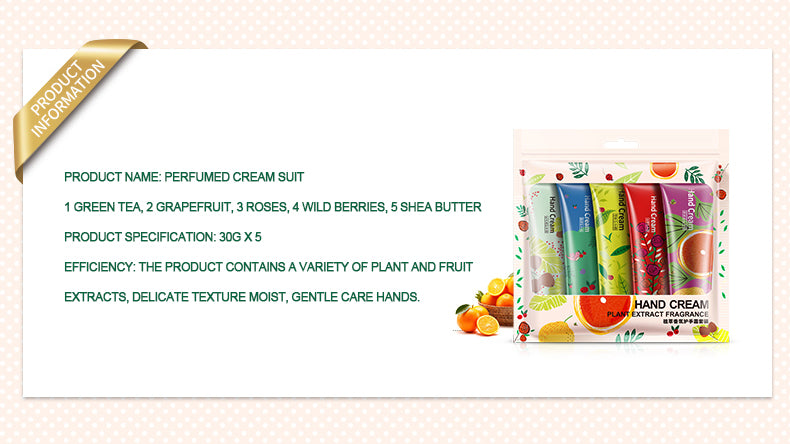 BIOAQUA Plant flavor Hand Cream Set - 1stAvenue