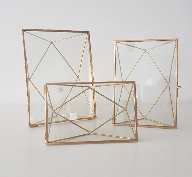 Geometric Photoframe ( Rectangle Frame)-Geometric Terrarium-1stAvenue