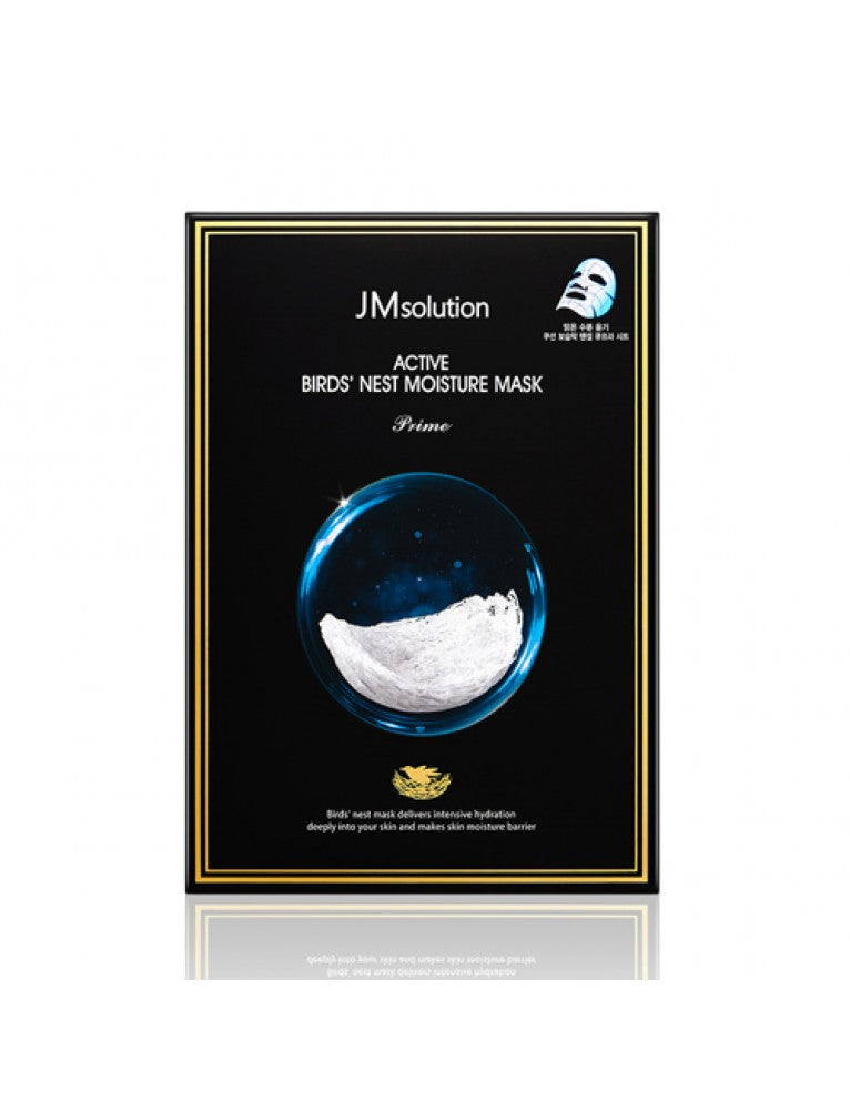 JMsolution Bird's Nest Moisture Mask 30ml x 10Pc facial Mask-JMsolution-1stAvenue