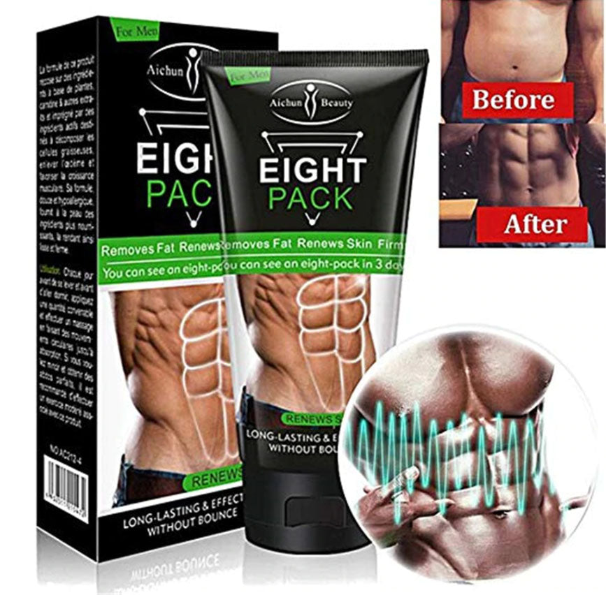 Aichun Beauty Men Eight Pack Stronger Muscle Cream - 1stAvenue