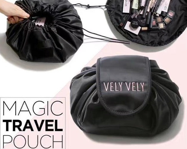 Magic cosmetic travel pouch drawstring cosmetic bag-Travel Organizer-1stAvenue