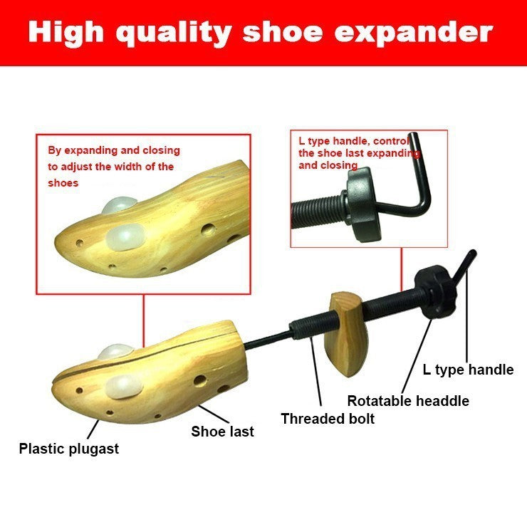 Shoe Expander / 2 Way Shoe Stretcher-shoe care-1stAvenue