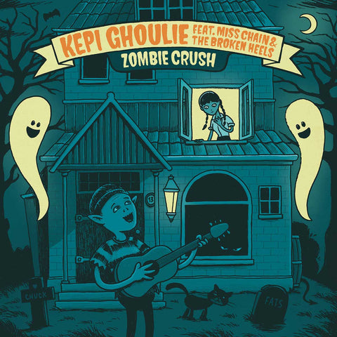 Kepi Ghoulie feat. Miss Chain & The Broken Heels - Zombie Crush album cover